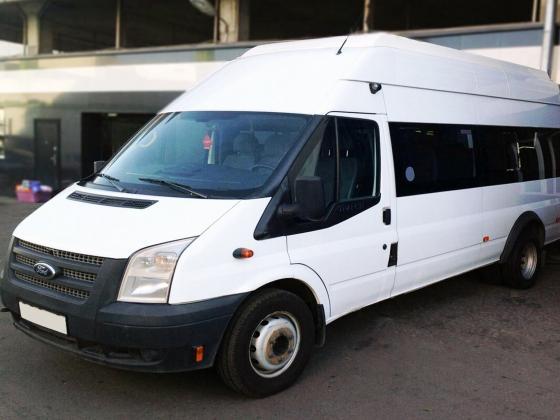 Микроавтобус ford transit 22 tdci (155hp) lwb